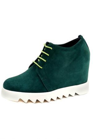 Ботинки Riccorona. Цвет: зеленый