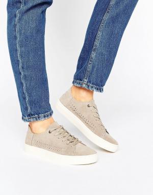 Toms Замшевые кроссовки Lenox Desert. Цвет: серый