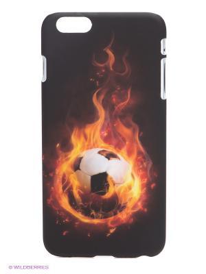 Чехол для iPhone 6 plus WB. Цвет: черный, оранжевый