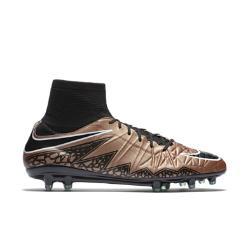 Мужские футбольные бутсы для игры на твердом грунте  Hypervenom Phatal II Dynamic Fit Nike. Цвет: коричневый