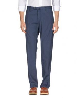 Повседневные брюки J.W. BRINE. Цвет: грифельно-синий