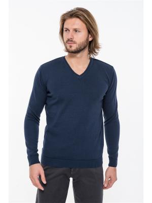 Пуловер Westrenger. Цвет: темно-синий