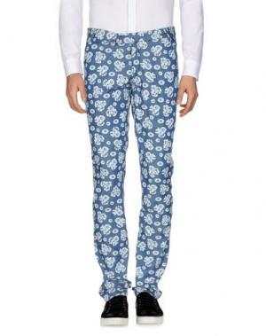Повседневные брюки PANAMA. Цвет: синий