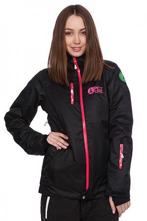 Куртка женская  Darling Jkt Black Picture Organic. Цвет: черный