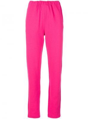 Спортивные брюки Majestic Filatures. Цвет: розовый и фиолетовый