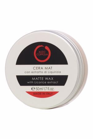 Матирующий воск для волос с экстрактом лакрицы Matte Wax, 50ml Aldo Coppola. Цвет: multicolor