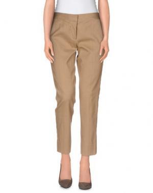 Повседневные брюки REED KRAKOFF. Цвет: верблюжий