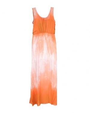 Длинное платье GIORGIA & JOHNS. Цвет: оранжевый