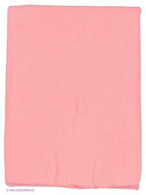 Простынь на резинке Kupu. Цвет: коралловый