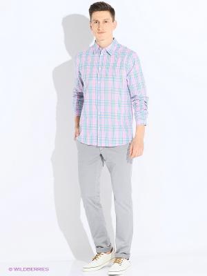 Рубашка TOM FARR. Цвет: бледно-розовый