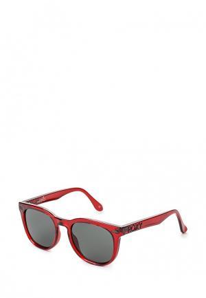 Очки солнцезащитные Roxy. Цвет: красный