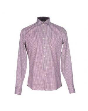 Pубашка HARRY & SONS. Цвет: фиолетовый