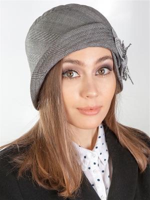 Шляпка LORICCI. Цвет: серый