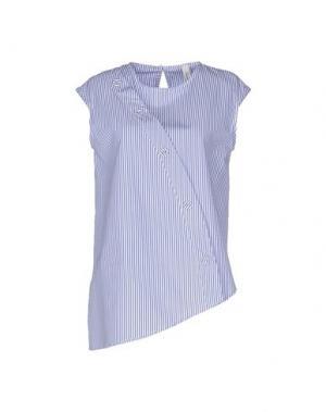 Блузка SOUVENIR. Цвет: синий