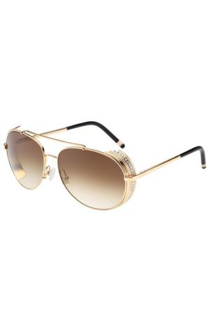 Солнцезащитные очки Boucheron. Цвет: 002