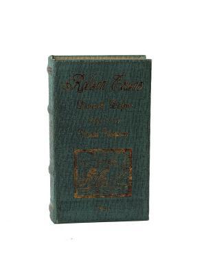 Шкатулка-фолиант Робинзон Крузо 21*13*5см Русские подарки. Цвет: темно-зеленый, золотистый