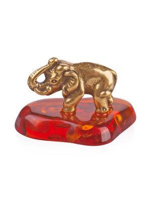 Фигура Слон Индийский Aztek. Цвет: желтый, коричневый, светло-оранжевый