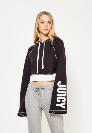 Худи Juicy by Couture. Цвет: черно-белый