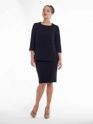 Блузка PROFITO AVANTAGE. Цвет: черный
