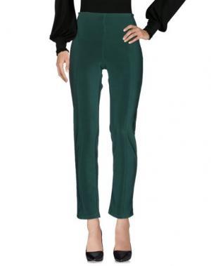 Повседневные брюки DONNA GI. Цвет: зеленый