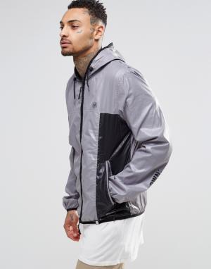 Your Own Куртка со вставками и логотипом. Цвет: серый