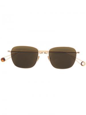 Квадратные солнцезащитные очки с затемненными линзами Ahlem. Цвет: металлический