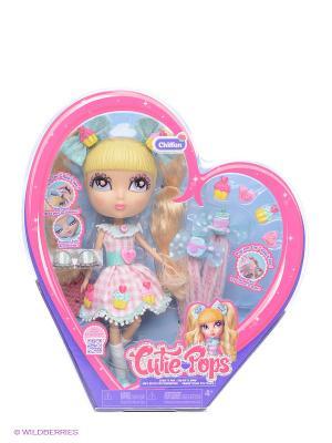 Набор Кьюти Попс Делюкс Кукла Шифон с аксессуарами Jada. Цвет: розовый, голубой
