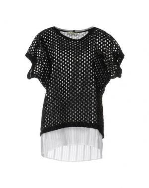 Блузка ALYSI. Цвет: черный
