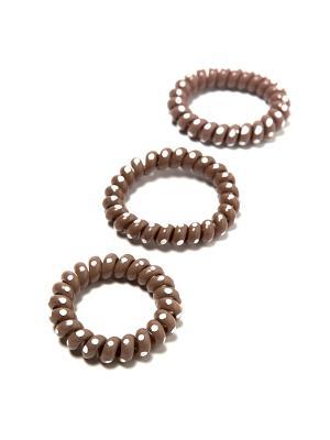 Резинка-браслет для волос Mitya Veselkov. Цвет: коричневый