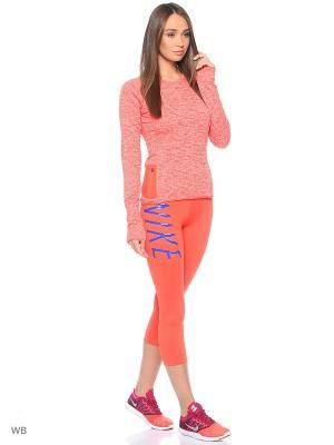 Капри Womens Nike Pro Cool Capri. Цвет: оранжевый