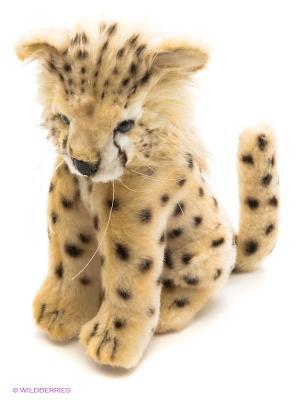Мягкая игрушка Детеныш гепарда Hansa. Цвет: бежевый