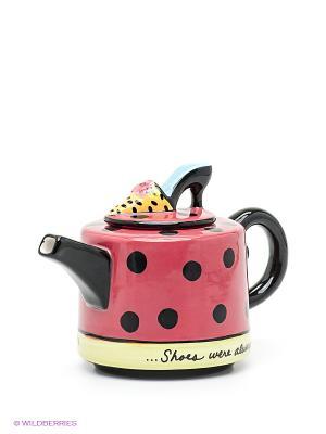 Заварочный чайник Pavone. Цвет: красный