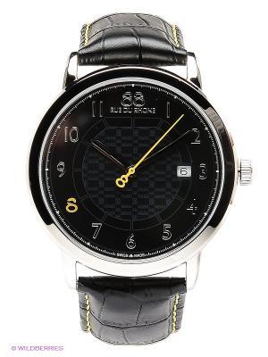 Часы Rue du Rhone. Цвет: черный