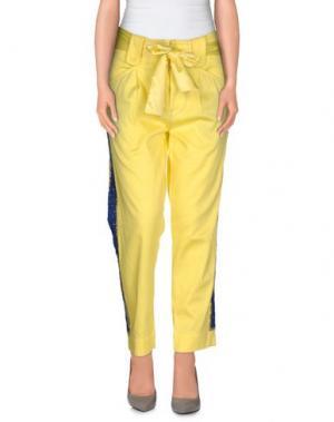 Повседневные брюки PRINCESSE METROPOLITAINE. Цвет: желтый