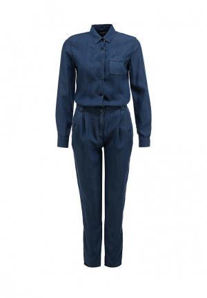 Комбинезон джинсовый Tommy Hilfiger. Цвет: синий