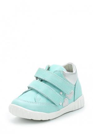 Ботинки Юничел. Цвет: бирюзовый