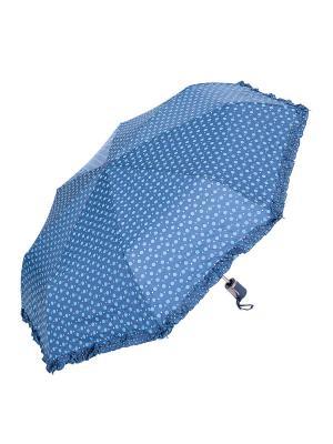 Зонт складной NUAGES. Цвет: синий