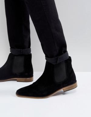 KG Kurt Geiger Замшевые ботинки челси By. Цвет: черный