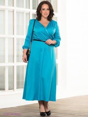 Платье Marlen. Цвет: лазурный