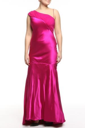Платье вечернее Dina Bar-El. Цвет: розовый
