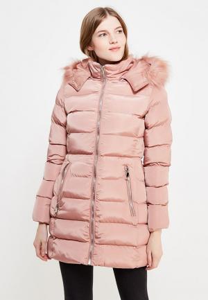 Куртка утепленная Fascinate. Цвет: розовый