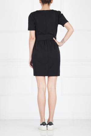 Платье-мини Sandro. Цвет: черный