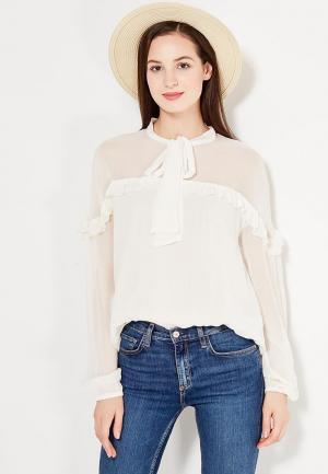 Блуза Pepe Jeans. Цвет: белый