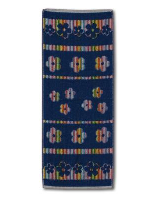 Полотенце махровое пестротканое жаккардовое 30x80см Цветочная феерия-2 Авангард. Цвет: малиновый