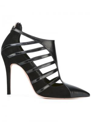 Туфли с ремешками Francesca Mambrini. Цвет: чёрный