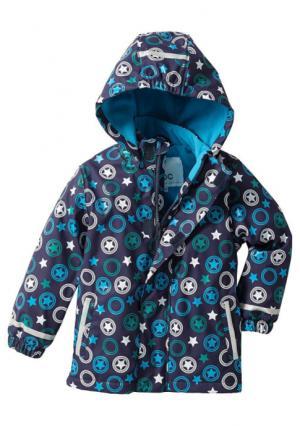 Термокуртка-дождевик. Цвет: лиловый с рисунком