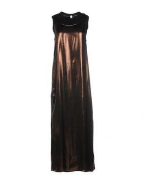 Длинное платье SOUVENIR. Цвет: бронзовый