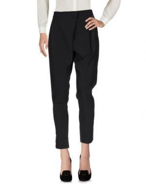 Повседневные брюки REVISE. Цвет: черный