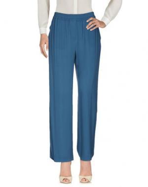 Повседневные брюки N_8. Цвет: синий