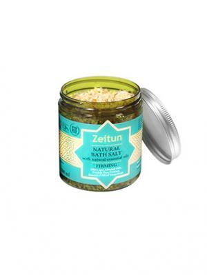 Морская соль для ванн Зейтун подтяжки кожи, с экстрактом опунции и эфирным маслом грейпфрута.. Цвет: светло-бежевый